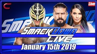 WWE SmackDown Live Stream Full Show January 15th 2019: Live Reaction Conman167