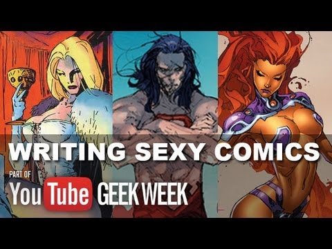 Emma Frost, Starfire, H'el - Scott Lobdell talks writing comics for DC and Marvel