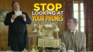 Stop Looking At Your Phones (