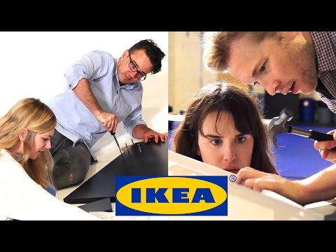 Couples Race To Build IKEA Furniture