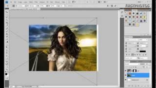 Photoshop cs5 6 быстрое выделение волос