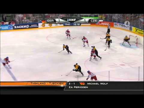 Germany vs Czech Republic 2-4 2015-05-10 IIHF 2015 WC HIGHLIGHTS Swedish/Svenska