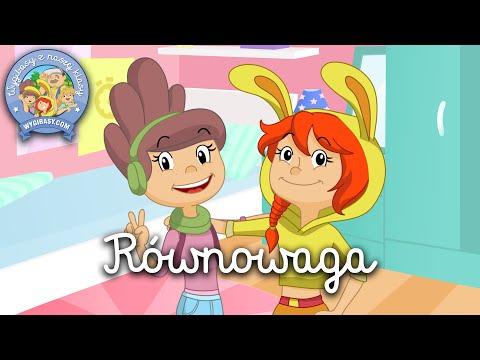 RÓWNOWAGA – Wygibasy Z Naszej Klasy - Piosenka Dla Dzieci, Dziecięce Hity!