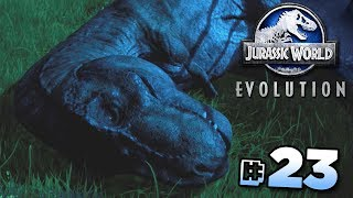 MOVING THE T.REX!!! - Jurassic World Evolution FULL PLAYTHROUGH | Ep23 HD