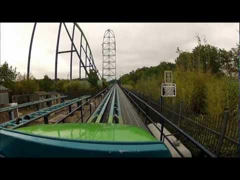 Kingda Ka - HD - First Roll POV - Six Flags - GoPro Hero2