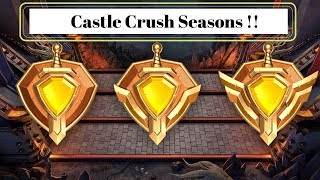 Castle Crush seasons, the end of sitting players !! - Castle Crush EN french subtitles