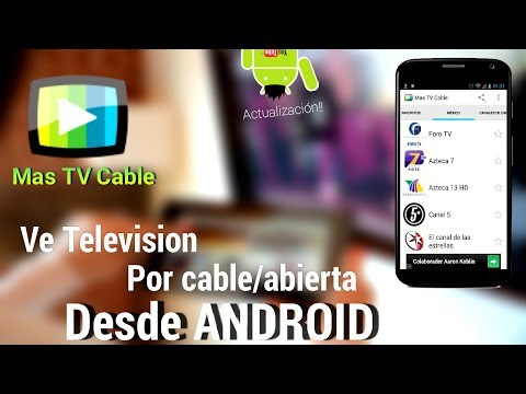 (Actualización)  Ve TV  por Cable y Abierta Online Desde Android Gratis   Mas TV Online Apk
