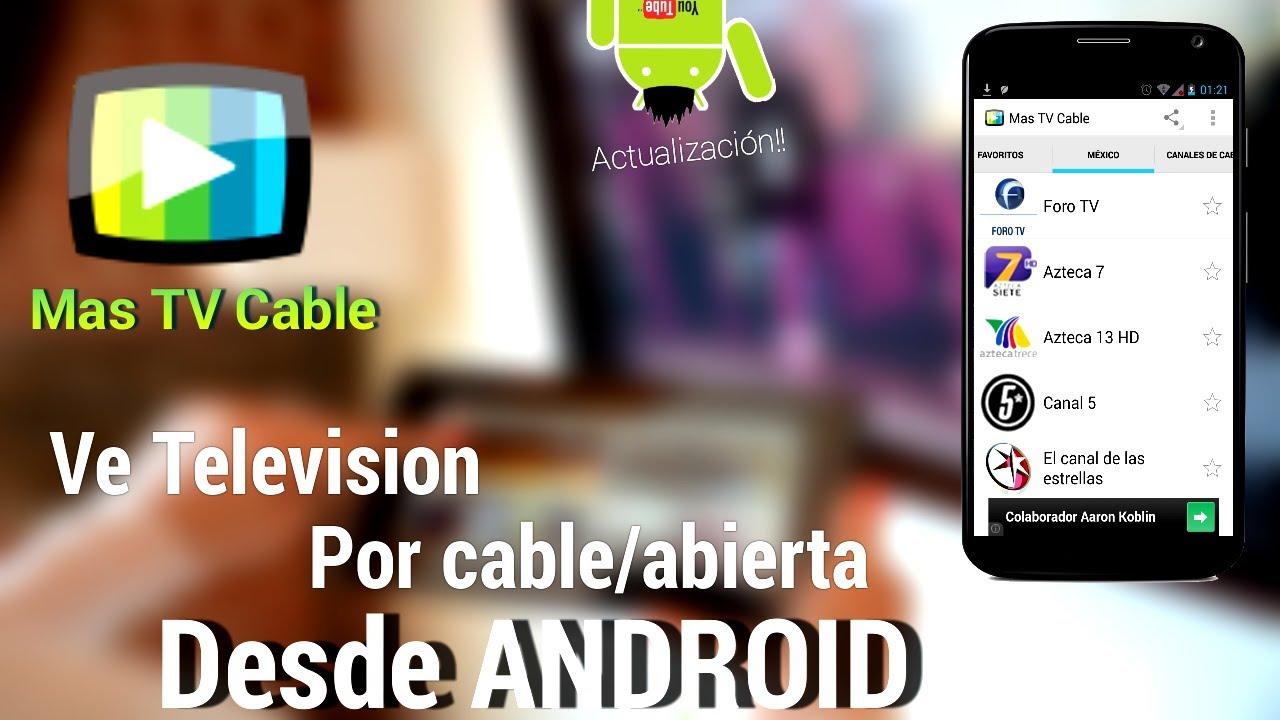 (Actualización) Ve TV por Cable y Abierta Online Desde