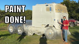 ICE CREAM PAINT JOB FOR THE CABOVER!