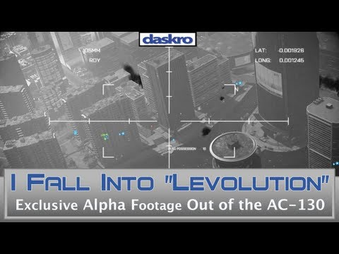 Battlefield 4 AC-130 Bail Out! - E3 Alpha Footage!