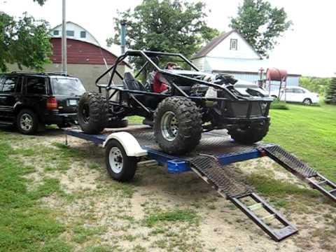 Homemade 4x4 Go Kart >> V8 Powered Dune Buggy - 1st Run! - YouTube