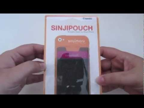 Sinjimoru (SinjiPouch Para Smarthphones. Intel Case Bumper iPhone 5. Sync Stand) Review Espanol