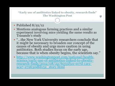 The Purported Link Between Antibiotics and Childhood Obesity.mp4