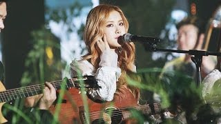 [161226] ROSÉ (BLACKPINK), JIHYO (TWICE) and CHANYEOL (EXO) + 10cm - Acoustic Stage