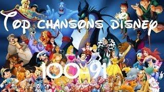 Top Chansons Disney 100-91