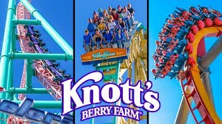 Top 10 Fastest Rides & Roller Coasters at Knott's Berry Farm