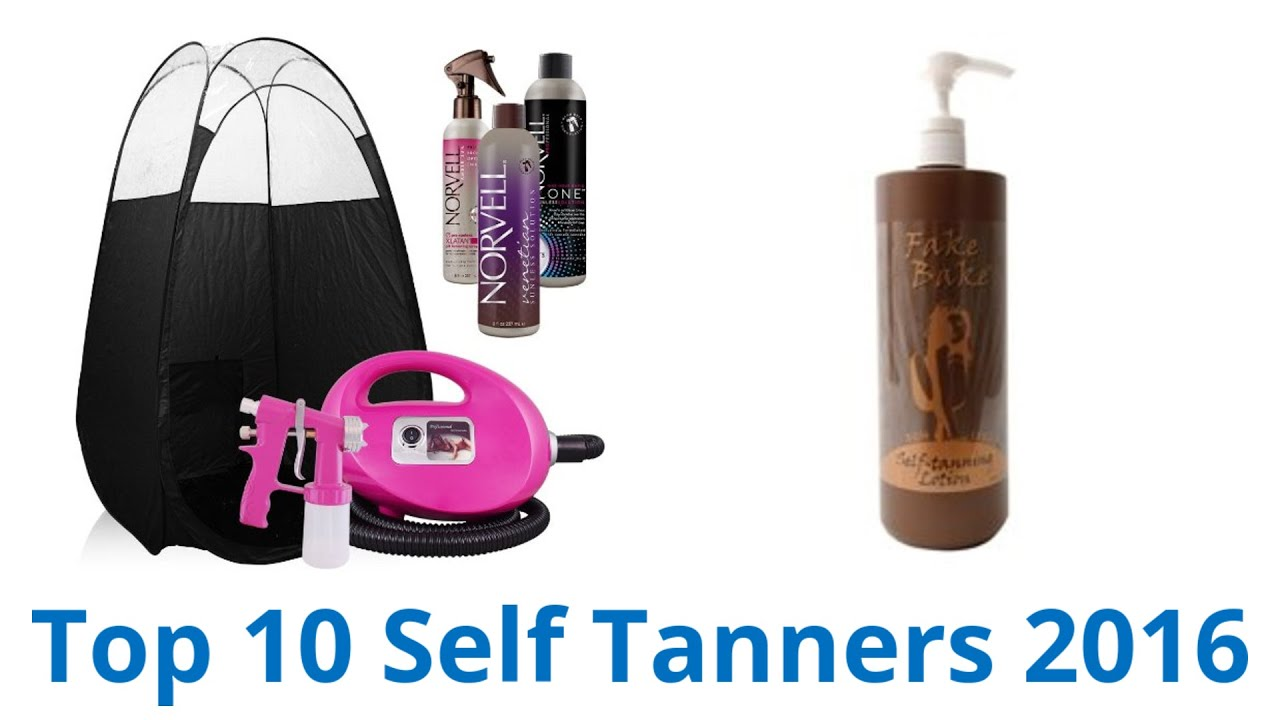 10 Best Self Tanners 2016