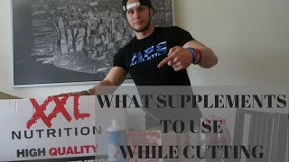 XXL Nutrition unboxing and supplements to use while cutting. CUTTINGVLOG#1