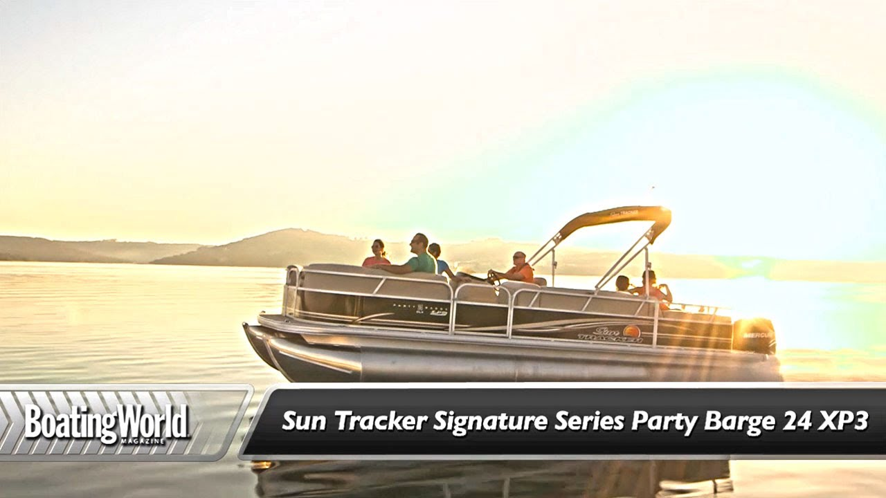Sun Tracker Signature Series Party Barge 24 XP3
