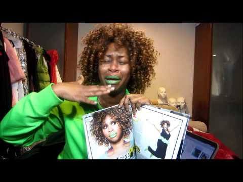 GloZell  featured in EBONY MAGAZINE April 2013 - GloZell