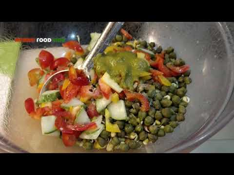 Indian protein salad | Popeye's Secret Recipe Of Building Muscle | Mumbai Street Food