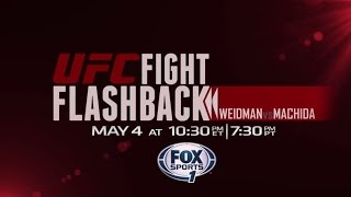 UFC Fight Flashback: Weidman vs. Machida