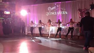 Diana's Quince surprise dance