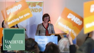 NDP preserves grip on power with Malcolmson win in Nanaimo | Vancouver Sun
