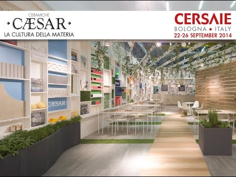 Ceramiche Caesar | stand Cersaie 2014, Made in Italy porcelain stoneware