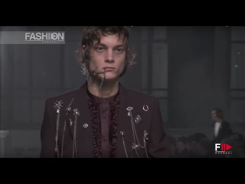 ALEXANDER MCQUEEN Menswear Fall 2016 London by Fashion Channel