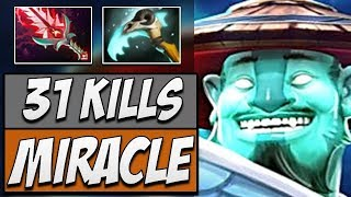 Liquid.Miracle Storm Spirit with Bloodthorn & Scythe of Vyse | Dota Gameplay