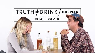 Couples Play Truth or Drink (Mia & David)