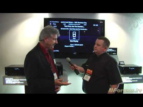 CES 2009: Pioneer Blu-ray, Amps and Speakers