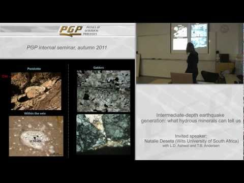 Lecture - Intermediate-depth earthquake generation
