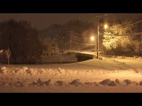 December '09 Blizzard - Stoughton, WI (1080p)