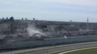 Turcot - Destruction autoroute Ville-Marie 5-6 mai 2018