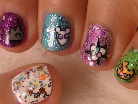 Fruits Basket Nail Art For Short Nails video