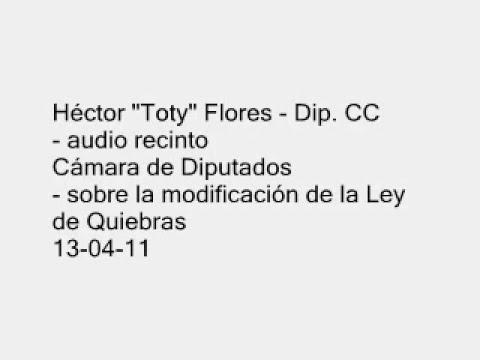HECTOR TOTY FLORES - SOBRE LA MODIFICACION DE LA LEY DE QUIEBRAS - 13-04-11