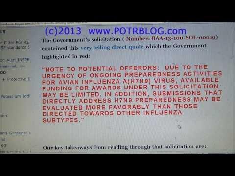 H7N9 Bird Flu Defeating Masks, US Makes 'Urgent Preparations'