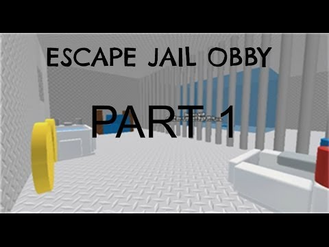 Roblox Gameplay: Escape Jail Obby Part 1