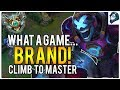WHAT A GAME... BRAND! - Climb to Masters | League of Legends MP3