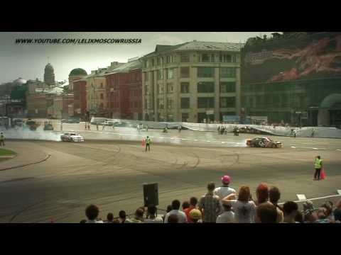 TOP4  Russian Drift Series RDS 2010 3 stage Moscow