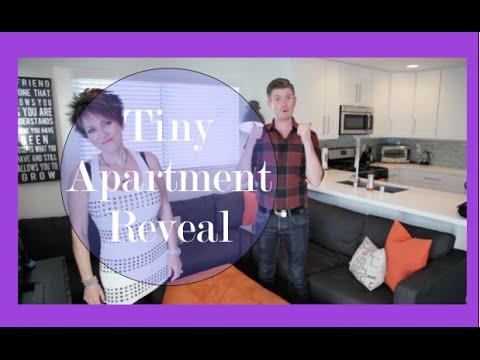 Robeson Design TINY Apartment Decorating