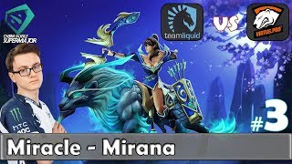 Miracle - Mirana Gameplay | Liquid vs VP Game 3 | Grand Final China Supermajor 2018