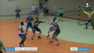 Handball Coupe de France 16e de finale 2018 Antibes Saint-Raphal