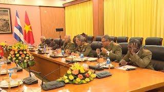 Tăng cường phát triển song phương quốc phòng hai nước Việt Nam - Cuba