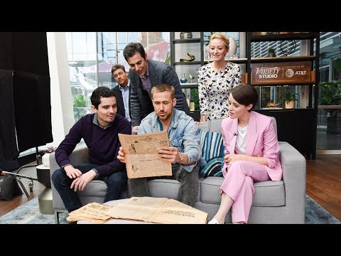 Ryan Gosling & Damien Chazelle On 'First Man' - Variety Studio TIFF 2018
