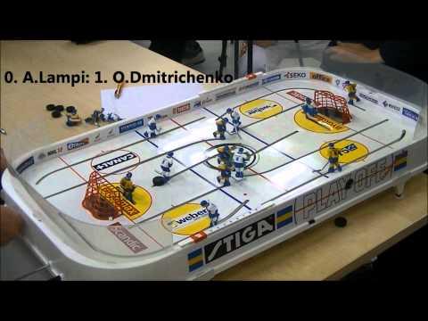 table hockey helsinki open 2011. FINAL GAME 5. Oleg Dmitrichenko vs Ahti Lampi [HD]