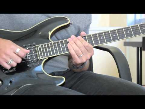 Lesson Guitar - Sweep Shapes
