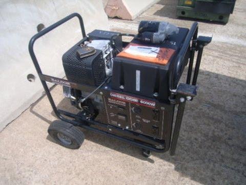 2004 Baldor Portable Generator Model DG6E 6000W on GovLiquidation.com